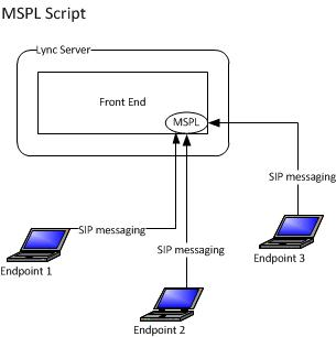 Diagram of an MSPL script